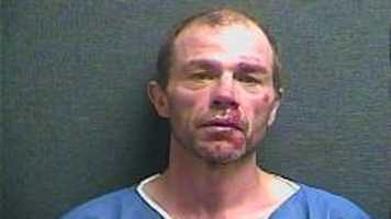 Stephen Biles, accused of beating and stomping his girlfriend at a bus stop. More info here.