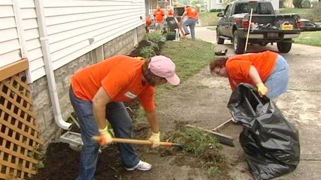 From updated landscaping to new appliances to even a kitchen sink, one local veteran's home is getting a makeover.