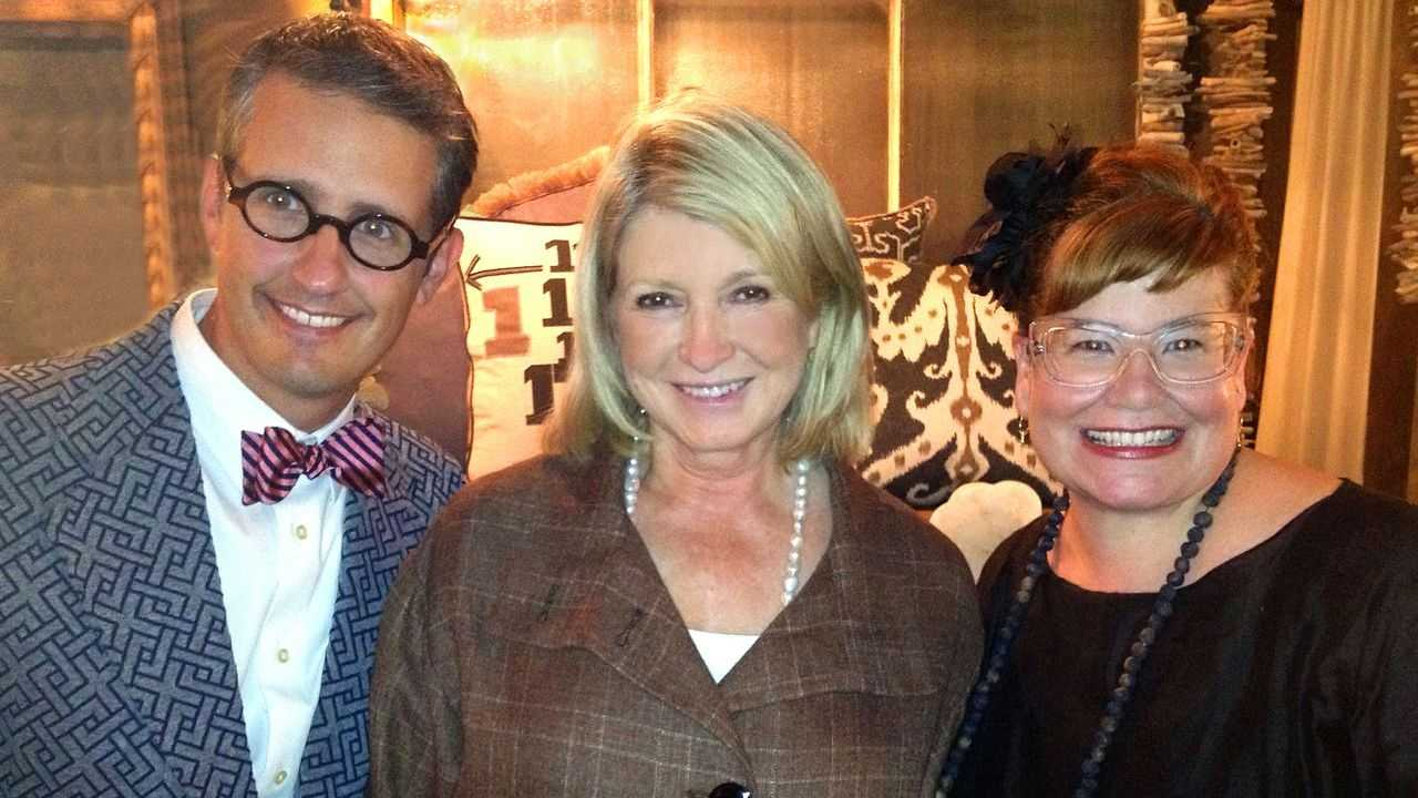 Matthew Knotts, Martha Stewart, Leah Spurrier
