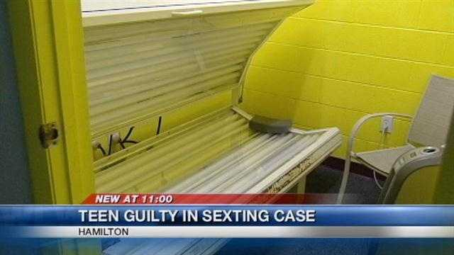 A Butler County teen was found guilty in a local sexting case