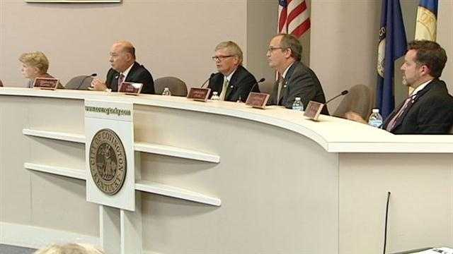 Covington's city commissioners heard from the city's fire chief Tuesday as the city looks for a way to cut $500,000 from the fire department budget.