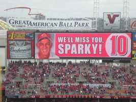 Do you remember Sparky (Captain Hook) and the Big Red Machine back from the 1970's? Over a 9 year period he won 863 games with the Reds before moving on to the Tigers.