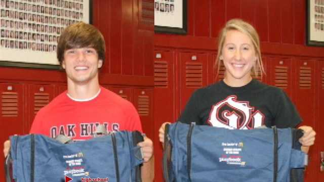 McDonald's Student Athletes of the Week for Sept. 21