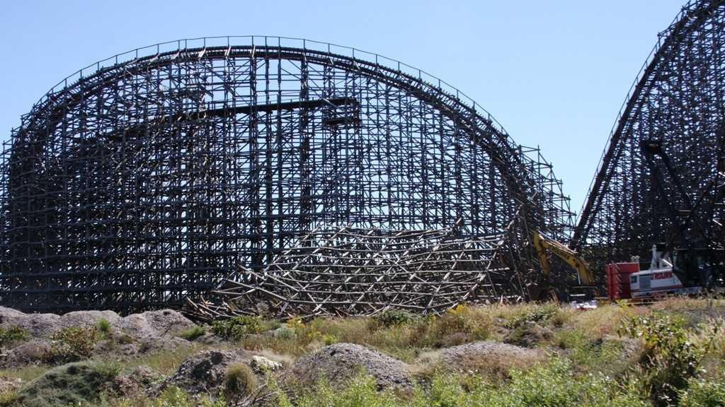 Son of Beast dismantling