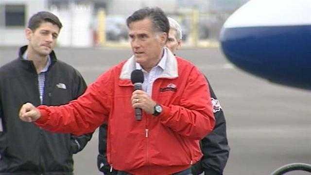 Romney, Ryan stop in Dayton on campaign swing