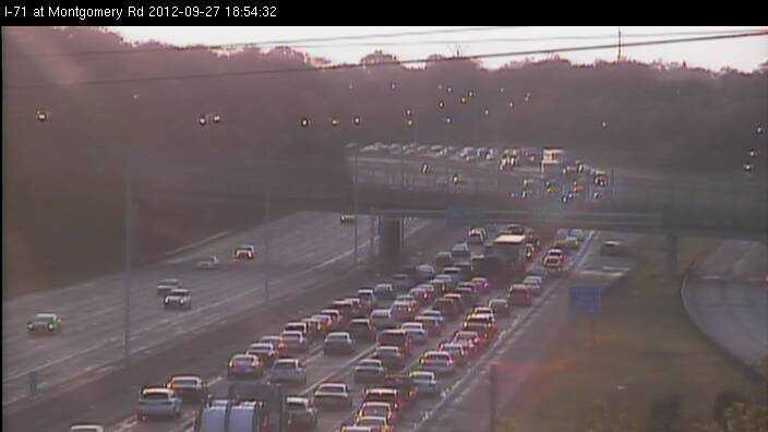 I-71 crash at Dana Ave.