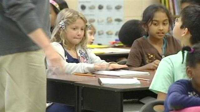 Third-grade students across Ohio took their state reading achievement tests.