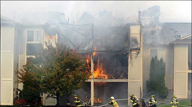 Mich. apartment fire