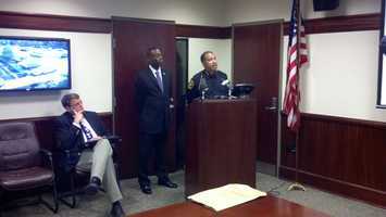 Police Chief James Craig holds press conference Sunday to answer questions about the fatal shooting of Erica Collins.