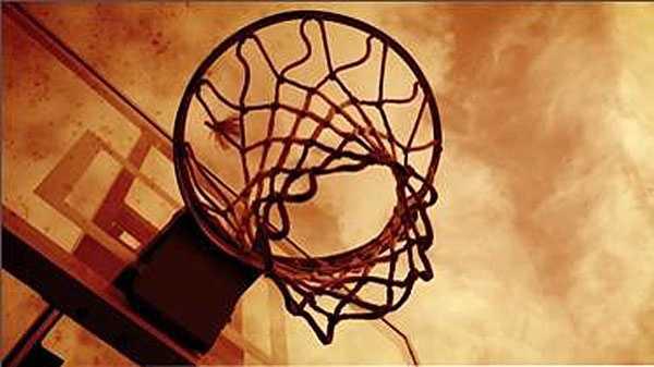 Generic basketball hoop