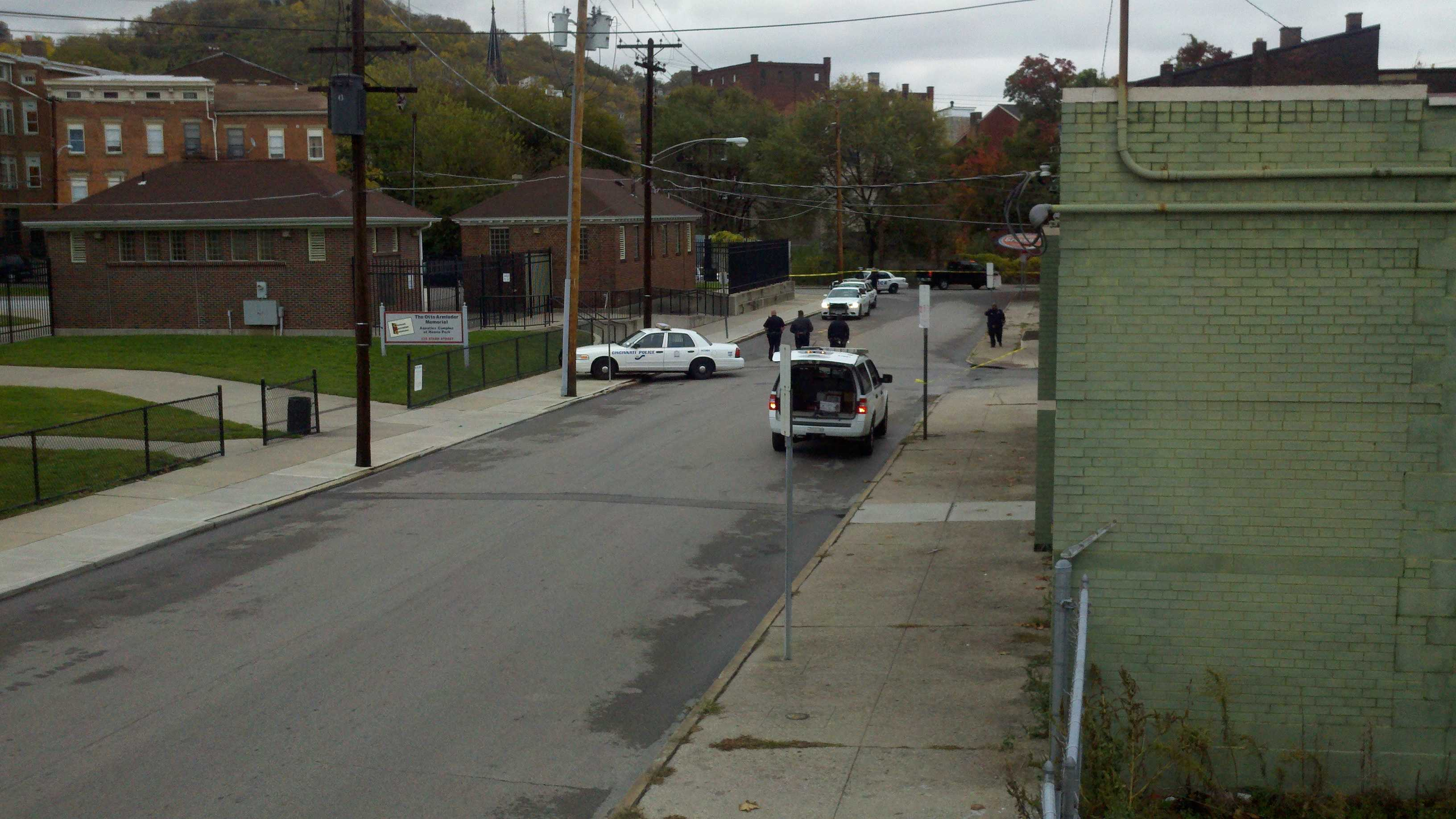 Police are investigating a homicide near Hanna Playground in Over-the-Rhine.