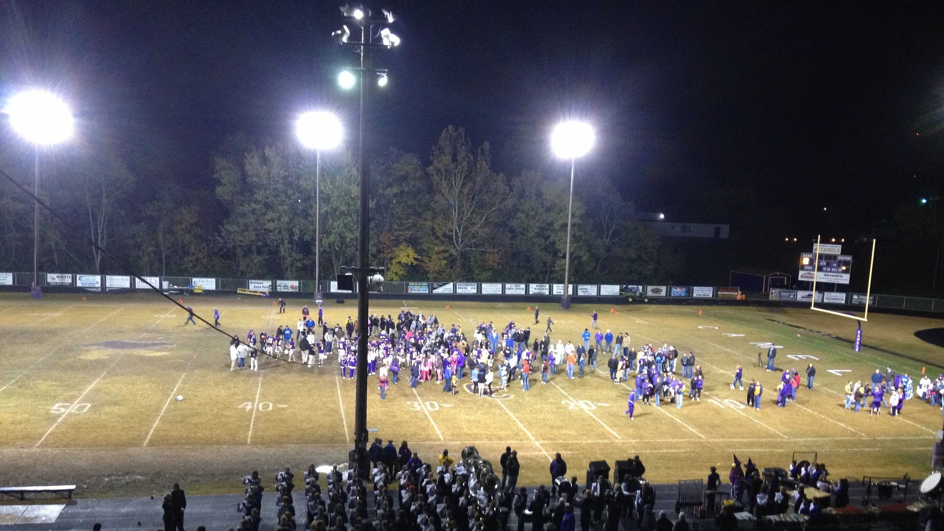 After 69 years, the Campbell County Camels played their final regular season game at Bob Miller Stadium in Alexandria on Friday night.