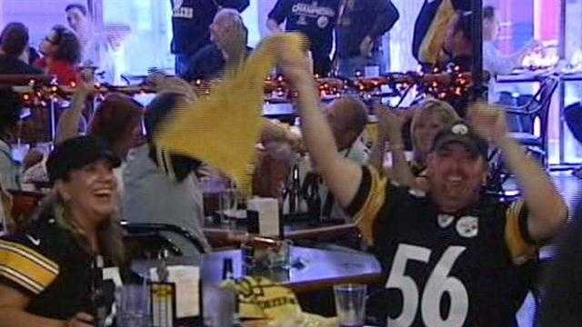 STEELER FANS at Martino's
