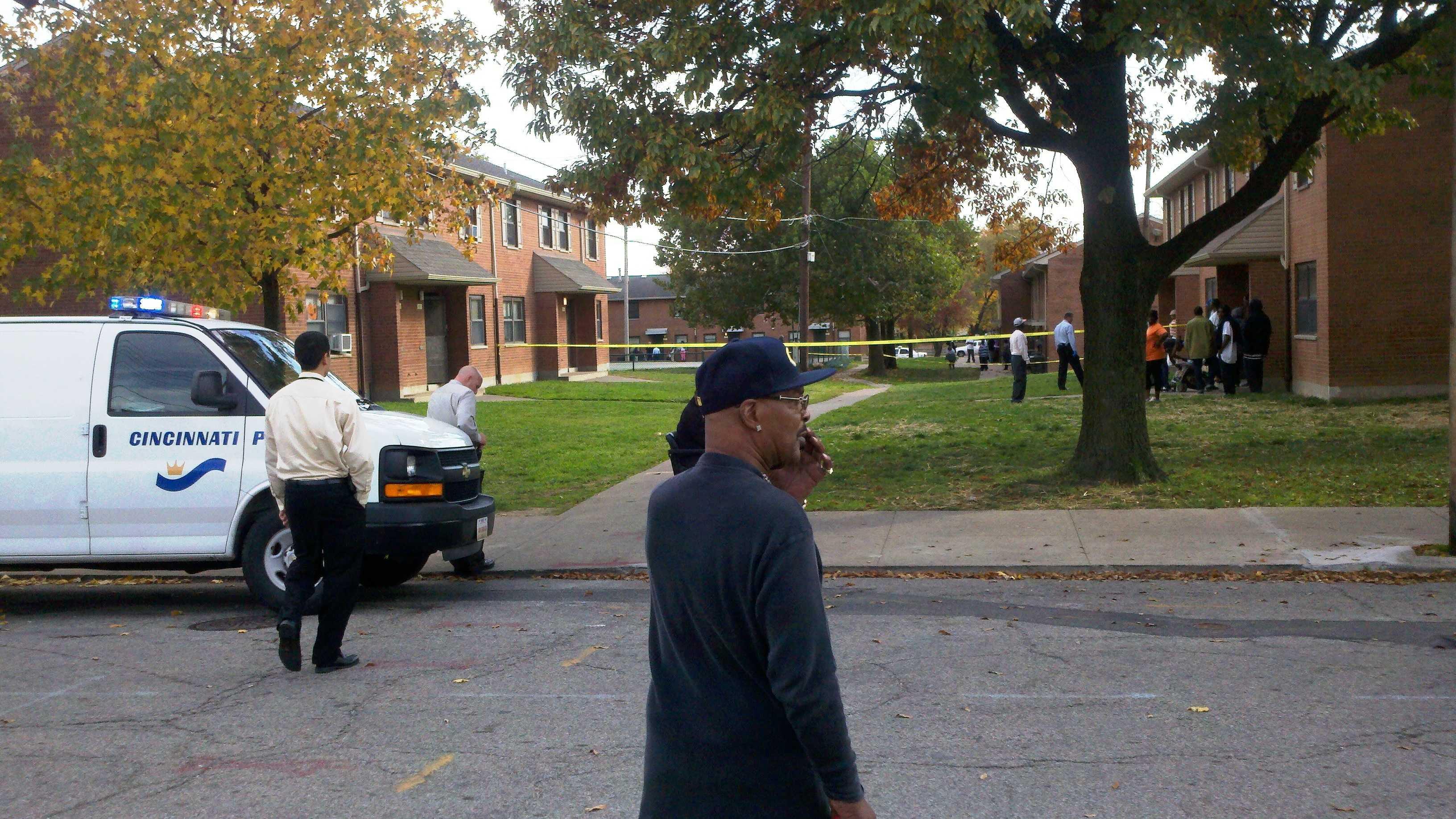 Poplar Street shooting
