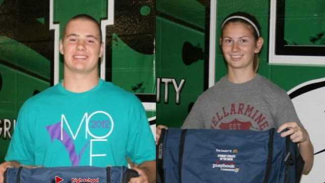 McDonald's Student Athletes of the Week for Oct. 26