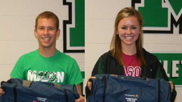 McDonald's Student Athletes of the Week for Nov. 2