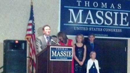 Thomas Massie wins