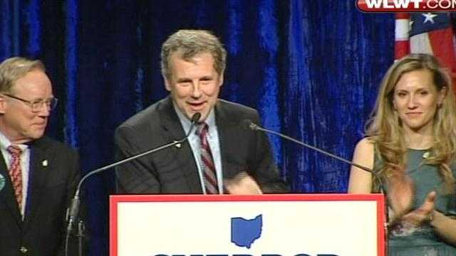 Raw: Sherrod Brown victory speech
