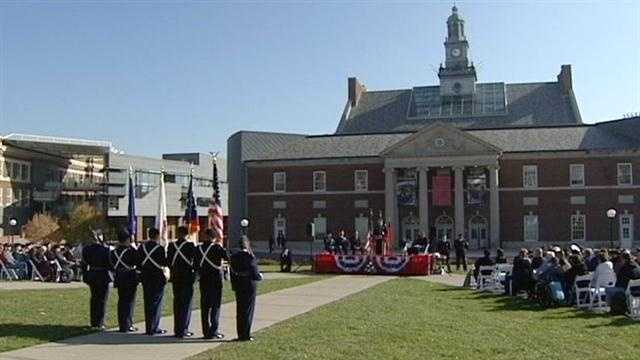 An increasing number of military veterans are attending the University of Cincinnati, and the school is taking a big step to ensure they get the services they need.