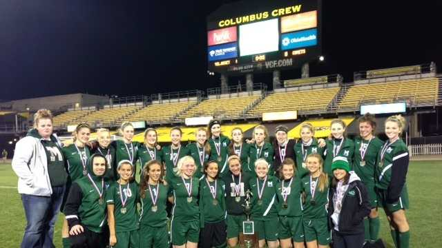 Mason Comets girls soccer team finishes 2012 as state runner-up