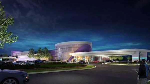 Warren County racino rendering