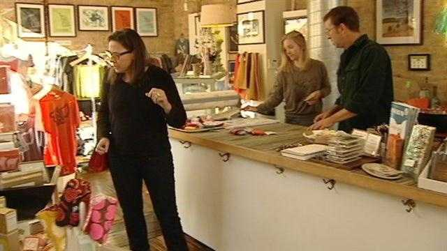 Cincinnati neighborhoods are encouraging shoppers to consider local options for their holiday gifts.