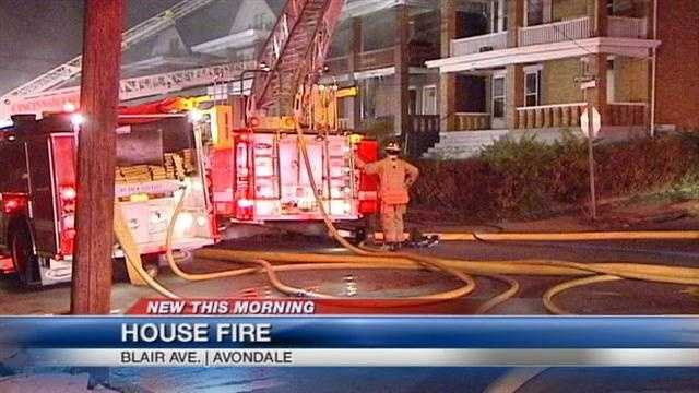 Firefighters hurt in Avondale fire
