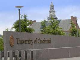 13: University of Cincinnati