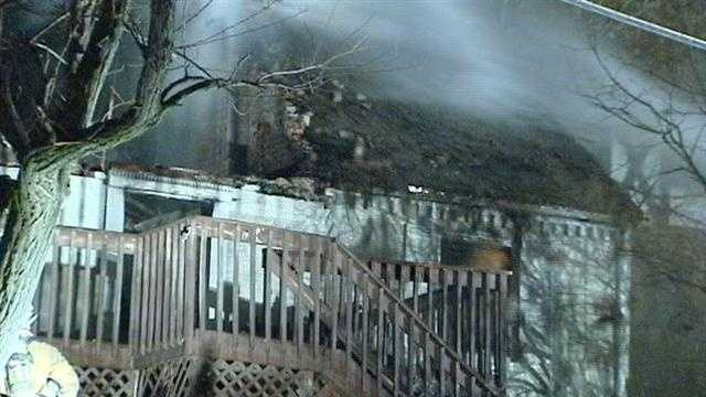Fire destroys Reading home