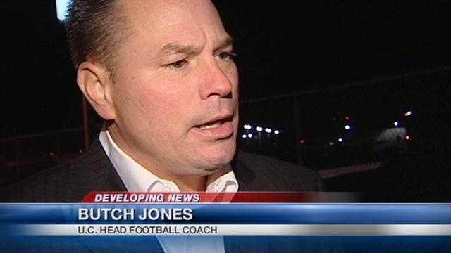 Coach Jones talks about making his decision