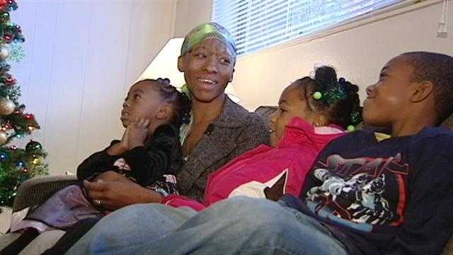 LaTonya Smith said this will be a Christmas she and her three children will never forget.