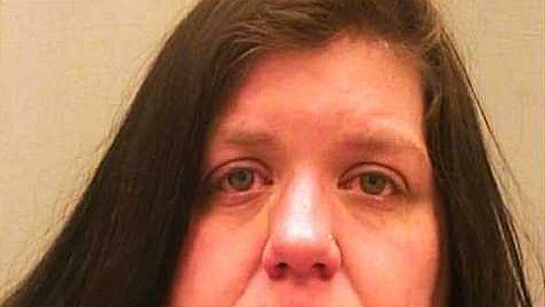 Randi Hoskins is accused of burning her own home down.