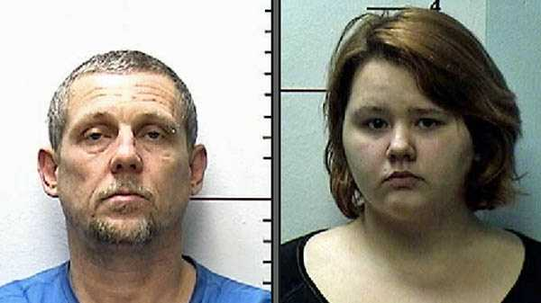 David Williams and Janet Ellis, accused of several burglaries.