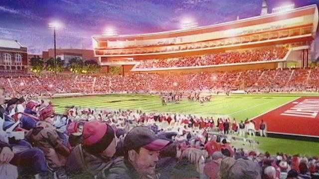 UC hopes private suites, club seats boost program's profile