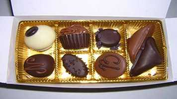 2. The one food I can't live without is chocolate.