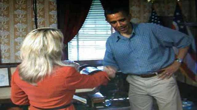 15. My biggest interview was in 2012 with President Obama.