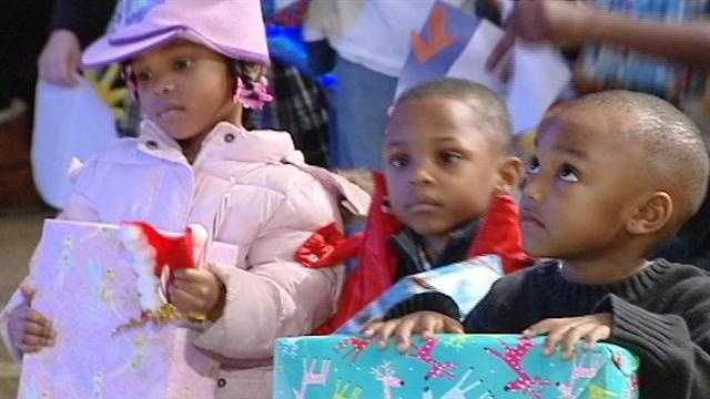 One Cincinnati church provides gifts to those who might otherwise be without Sunday.