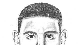 Burglary suspect sketch