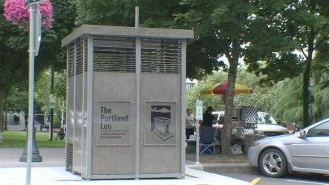 Pricy porta potties may be answer to stinky issue