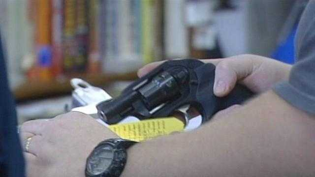 Gun shop owner says shortage seasonal, common