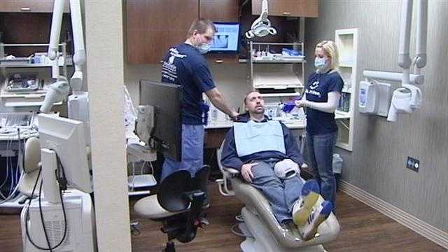 Patients benefit from free dental care