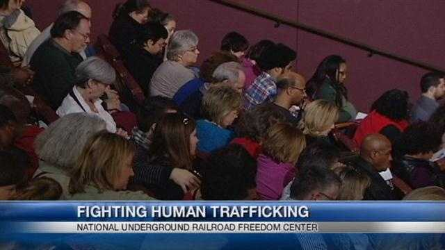 A Cincinnati group is taking part in a larger effort to end human slavery.