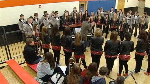 "A group of Loveland students will be competing to get on ""America's Got Talent."""