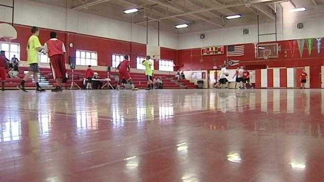 A basketball tournament is held to benefit the foundation of a boy who died last December.