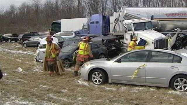 Girl killed in massive I-275 pile-up