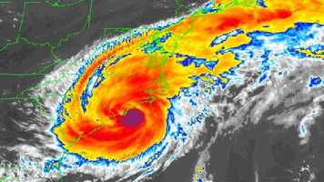 5. I've covered six hurricanes while working for NBC NewsChannel. The biggest was Hurricane Bonnie that made landfall in North Carolina in 1998.