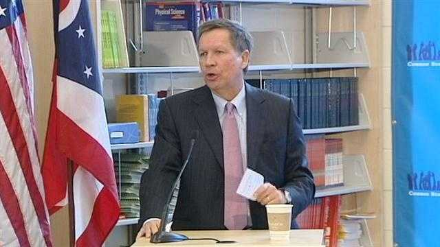 Kasich touts school funding plan to local officials