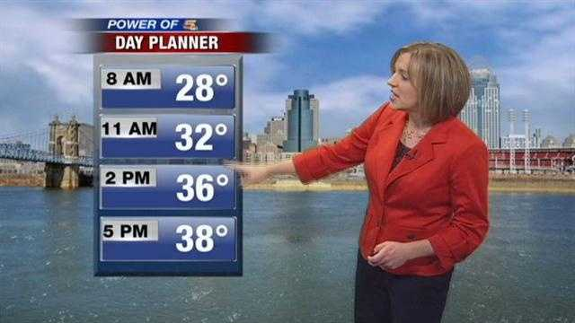 Cloudy skies and cool temperatures today. There are several days near 50 in Randi's 7Day Forecast.  Check it out here.