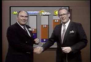 Willard Scott and Pat Barry