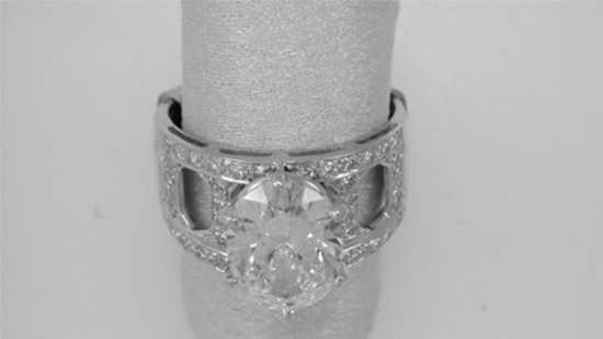 Howe's diamond ring